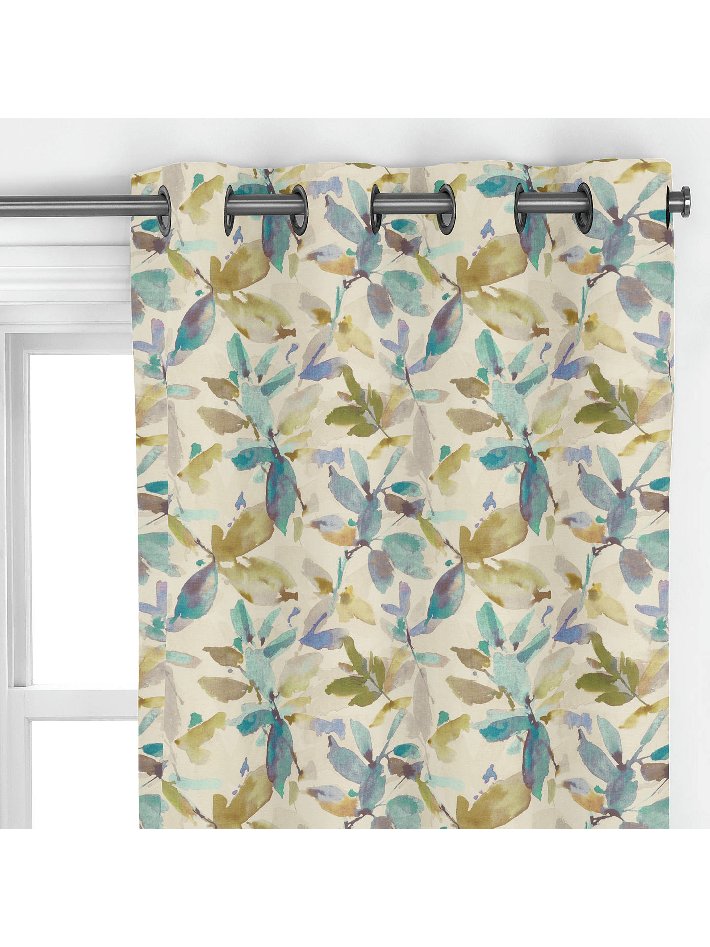 BuyAlexa Curtain, Aqua Online at johnlewis.com