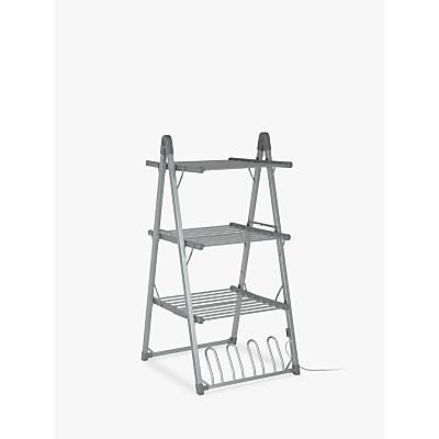 John Lewis & Partners 3-Tier Heated Indoor Clothes Airer