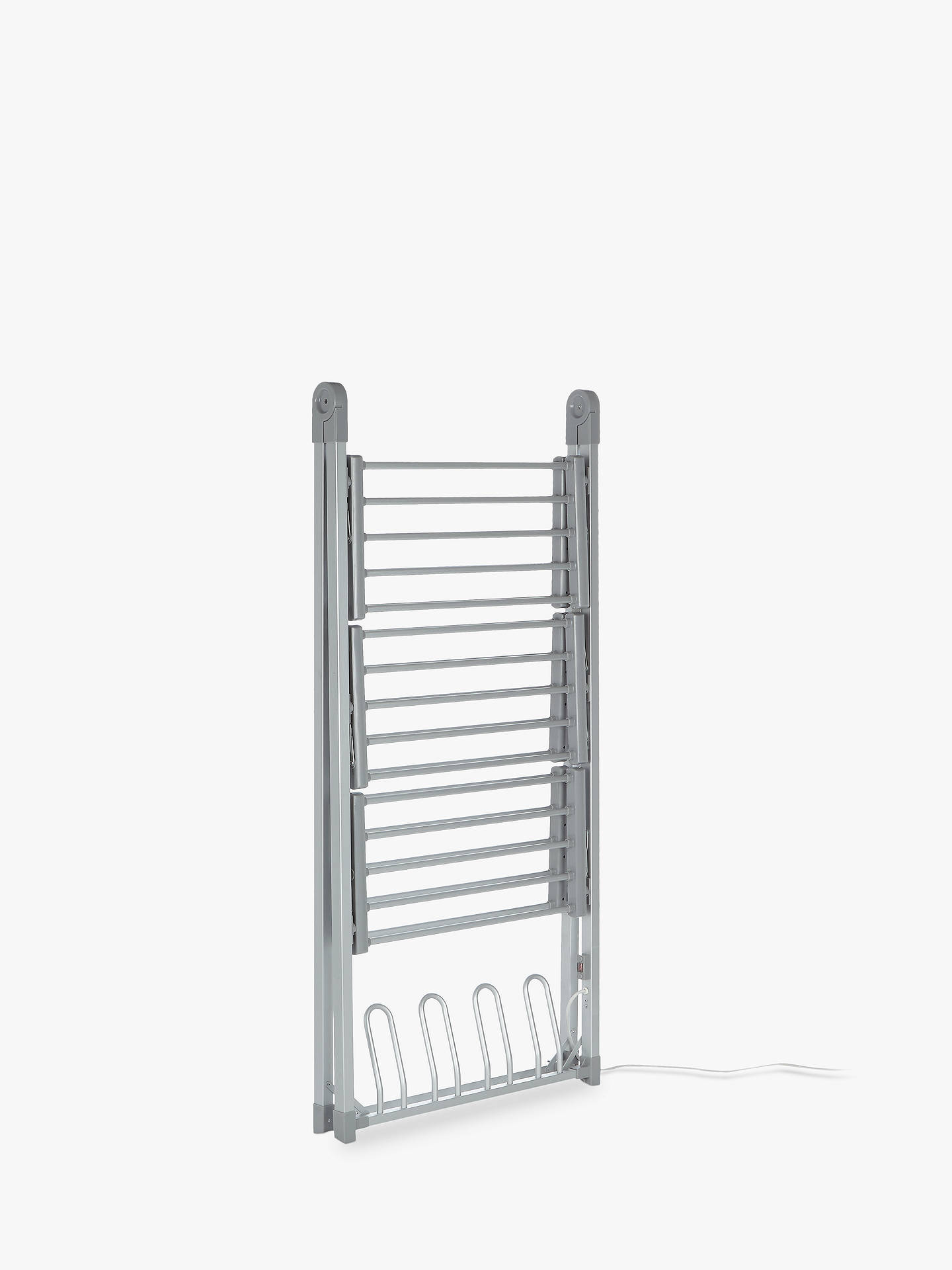Buy John Lewis & Partners 3-Tier Heated Indoor Clothes Airer Online at johnlewis.com