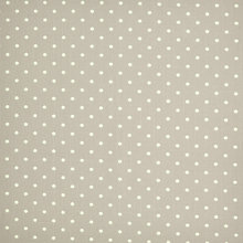 Buy Linen Look Polka Dot Cotton Fabric Online at johnlewis.com