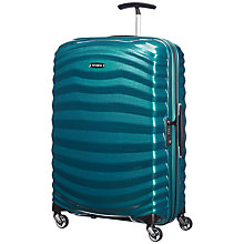 Buy Samsonite Lite-Shock 4-Wheel 69cm Medium Suitcase Online at johnlewis.com