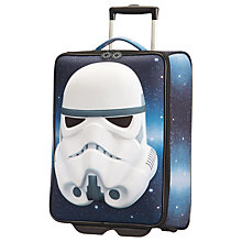 Buy Samsonite Star Wars Darth Vader 52cm 2-Wheel Cabin Suitcase, Black Online at johnlewis.com