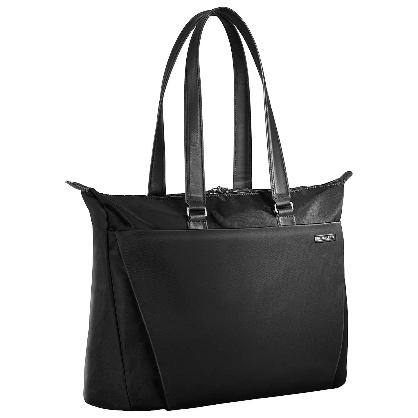 BuyBriggs & Riley Sympatico Shopping Tote Nylon Bag, Black Online at johnlewis.com