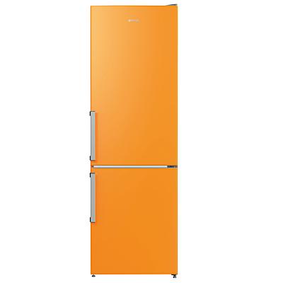 Gorenje RK6192EO Freestanding Fridge Freezer, A++ Energy Rating, 60cm Wide, Juicy Orange