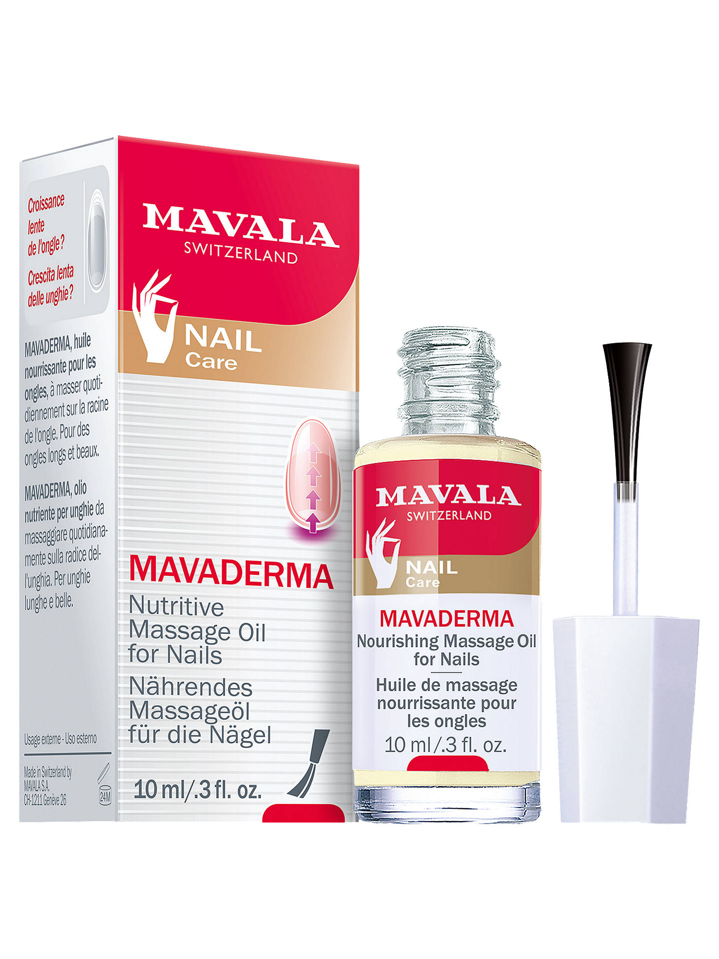 Buy Mavala Mavaderma Nail Treatment, 10ml Online at johnlewis.com