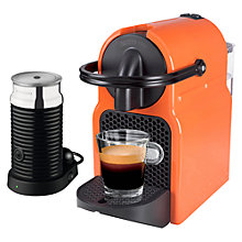 Buy Nespresso Inissia Coffee Machine with Aeroccino by Magimix Online at johnlewis.com