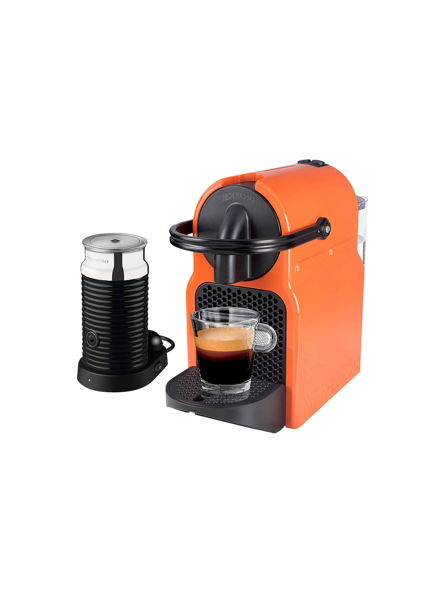 Nespresso Inissia Coffee Machine With Aeroccino By Magimix At John