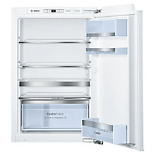 Buy Bosch KIR21AF30G Integrated Larder Fridge, A++ Energy Rating, 56cm Wide Online at johnlewis.com