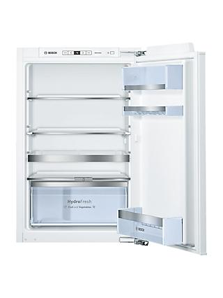 Bosch KIR21AF30G Integrated Larder Fridge, A++ Energy Rating, 56cm Wide