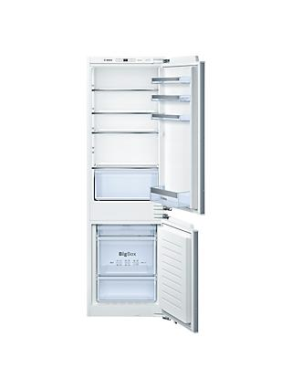 Bosch KIN86VF30G Integrated Fridge Freezer, A++ Energy Rating, 54cm Wide