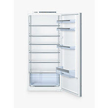 Buy Bosch KIR41VS30G Integrated Larder Fridge, A++ Energy Rating, 123cm Wide Online at johnlewis.com