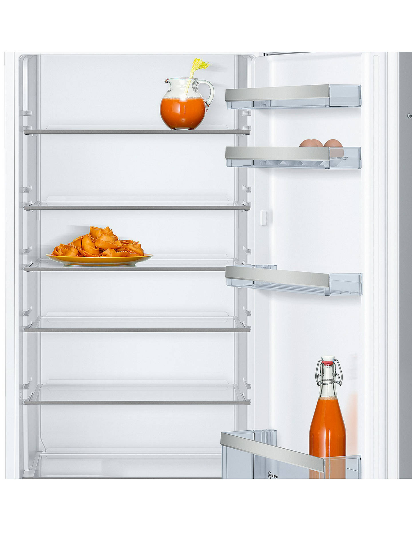 BuyNeff KI1412S30G Integrated Larder Fridge, A++ Energy Rating, 56cm Wide Online at johnlewis.com