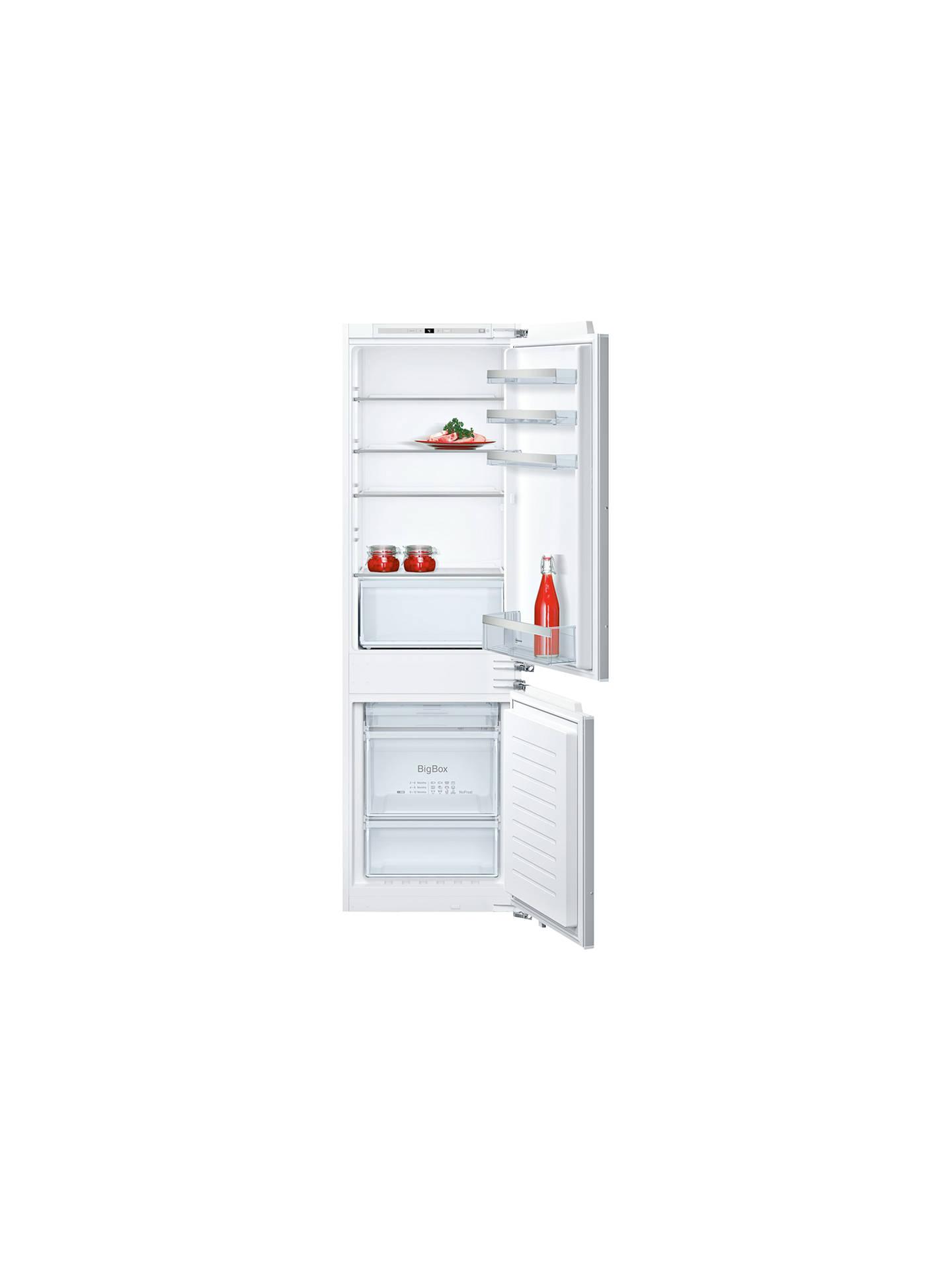 Neff Ki7862f30g Integrated Fridge Freezer A Energy Rating 54cm Refrigerator Alarm Circuit Buyneff Wide Online At Johnlewis