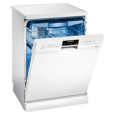 Siemens SN26M292GB Freestanding Dishwasher, White