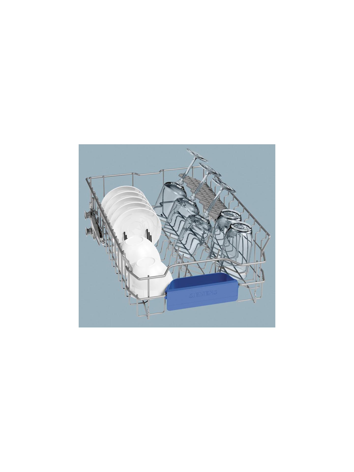 Siemens SR65T081GB Fully Integrated Slimline Dishwasher, Stainless ...