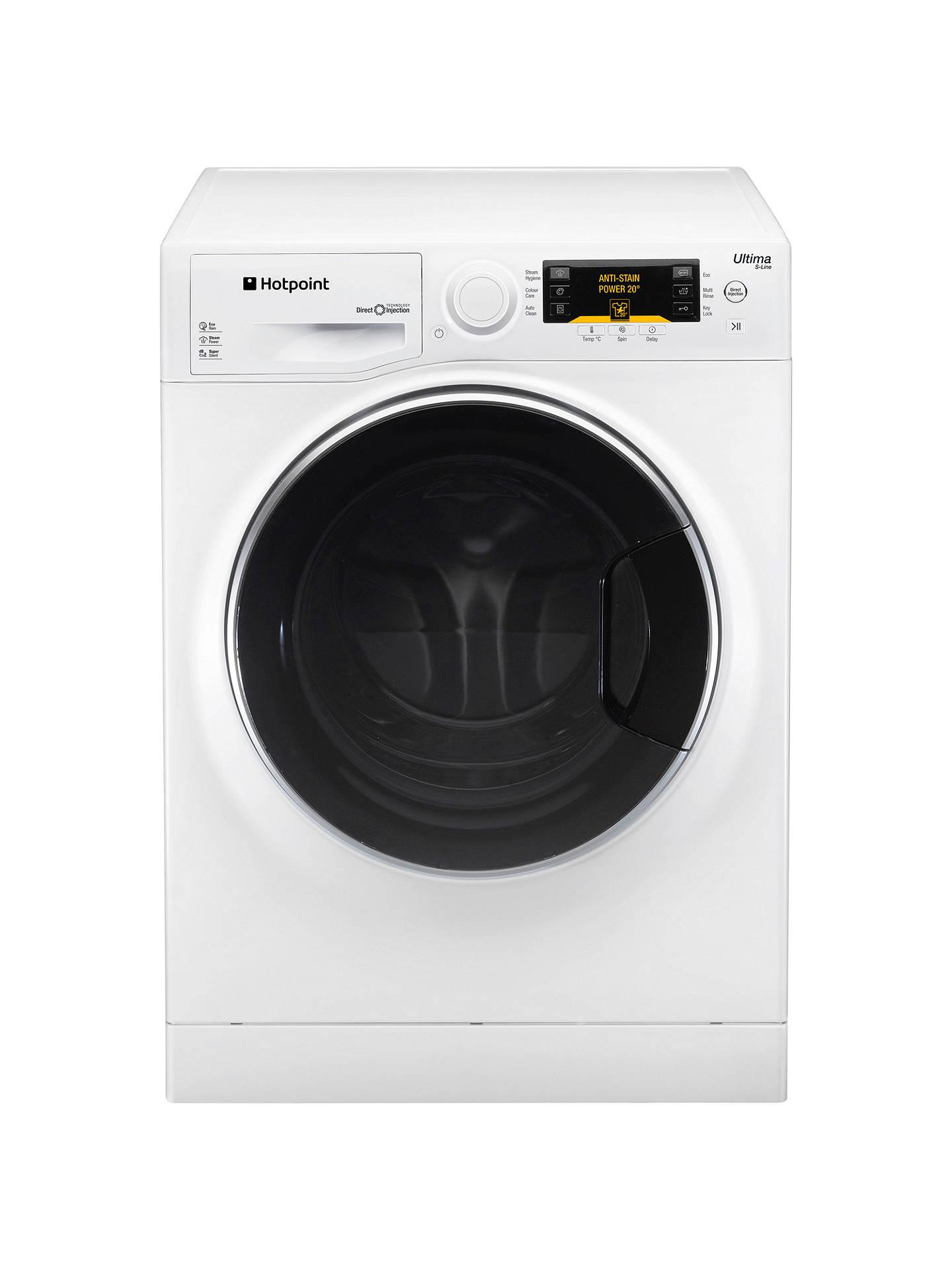 ea2c2d4868 Buy Hotpoint RPD10667DD Ultima S-Line Freestanding Washing Machine, 10kg  Load, A+++ Energy ...