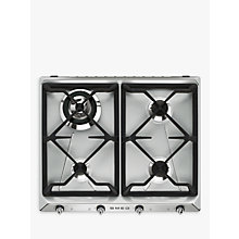 Buy Smeg SR964XGH Victoria Gas Hob, Stainless Steel Online at johnlewis.com