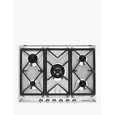 Image of Smeg SR975XGH Victoria Integrated Gas Hob, Stainless Steel