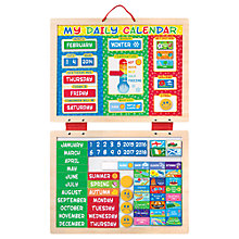 Buy Melissa & Doug My Magnetic Daily Calendar Set Online at johnlewis.com