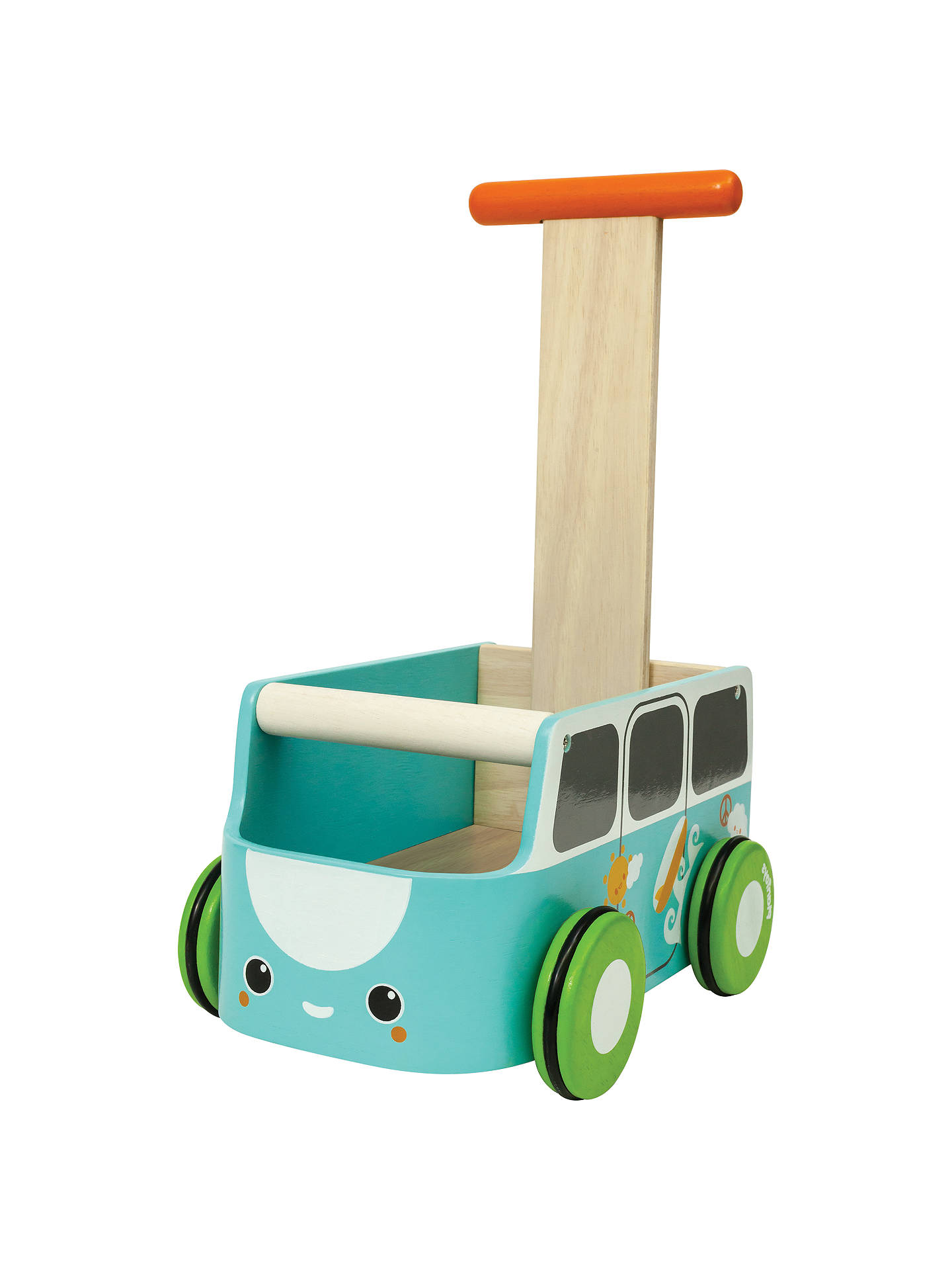plan toys van walker, blue at john lewis & partners