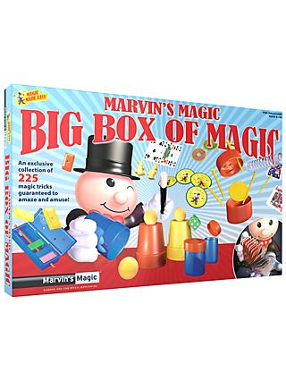 Marvin's Magic Big Box Of Magic, 225 Tricks, Assorted