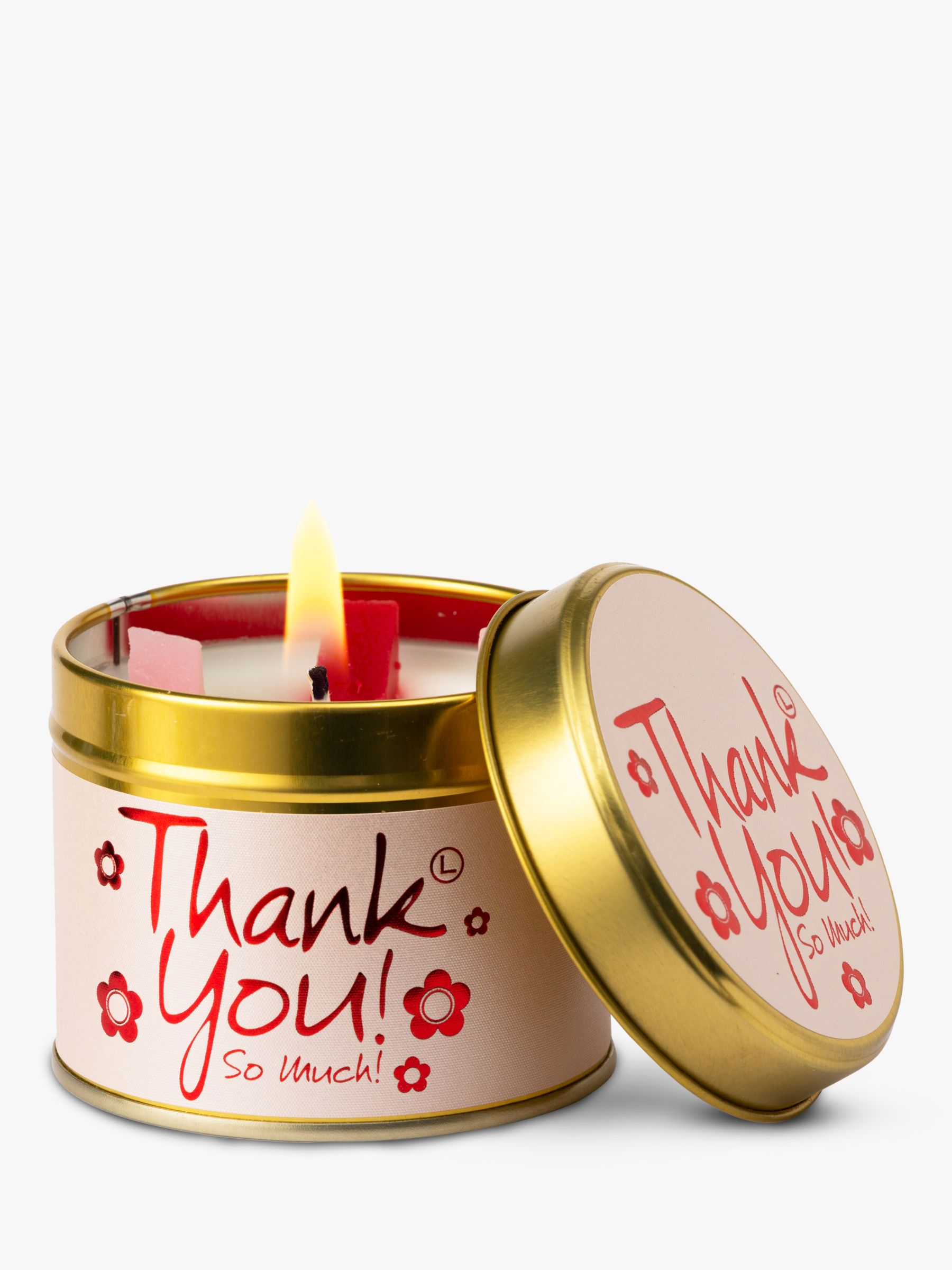 Lily-Flame Lily-flame Thank You! Scented Candle Tin