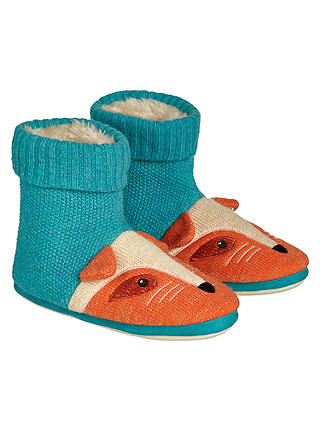 Buy Aroma Home Knitted Fox Slipper Boots Online at johnlewis.com