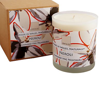 Cole & Co Neroli Scented Candle