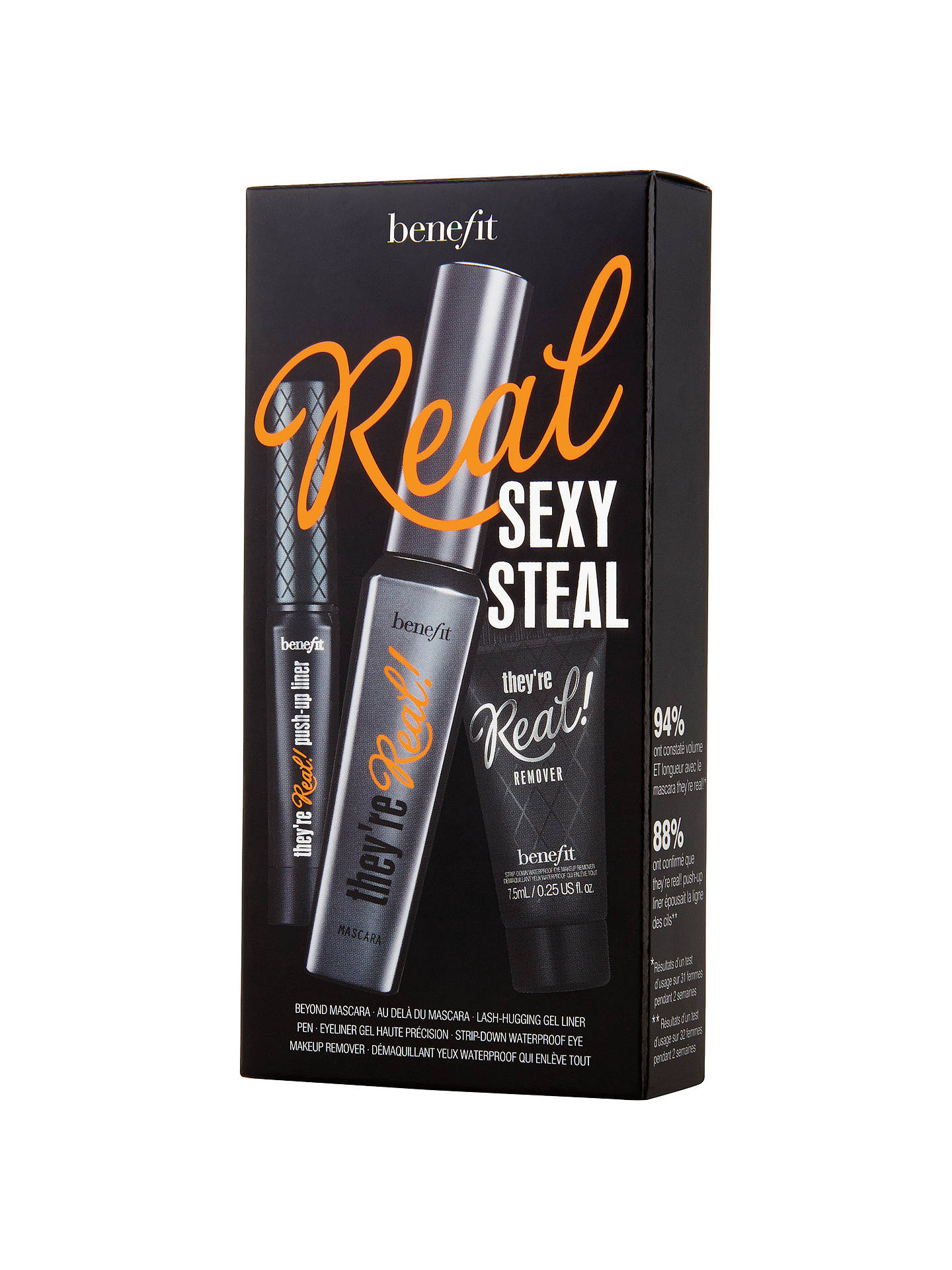 999a7423a5c Buy Benefit They're Real Mascara Sexy Steal Gift Set Online at johnlewis.com