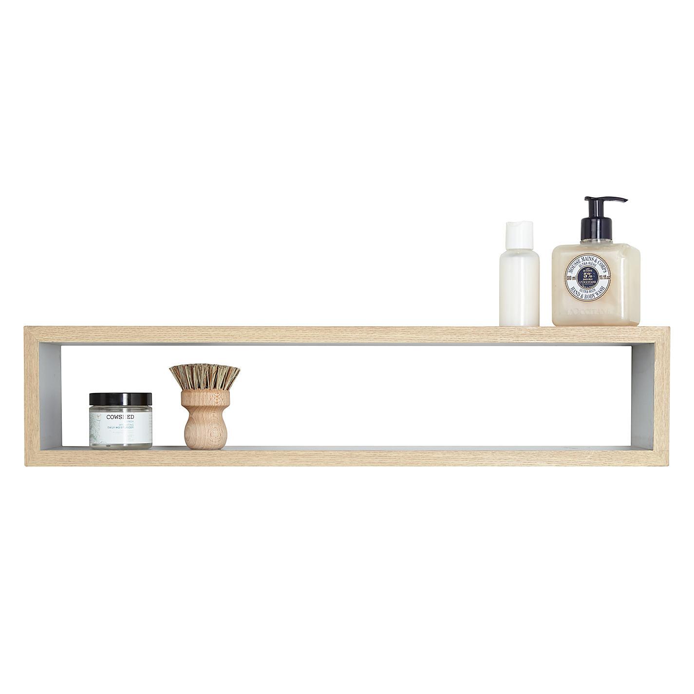 Bathroom accessories john lewis -  Buy Design Project By John Lewis No 008 Rectangular Bathroom Wall Shelf Online At Johnlewis