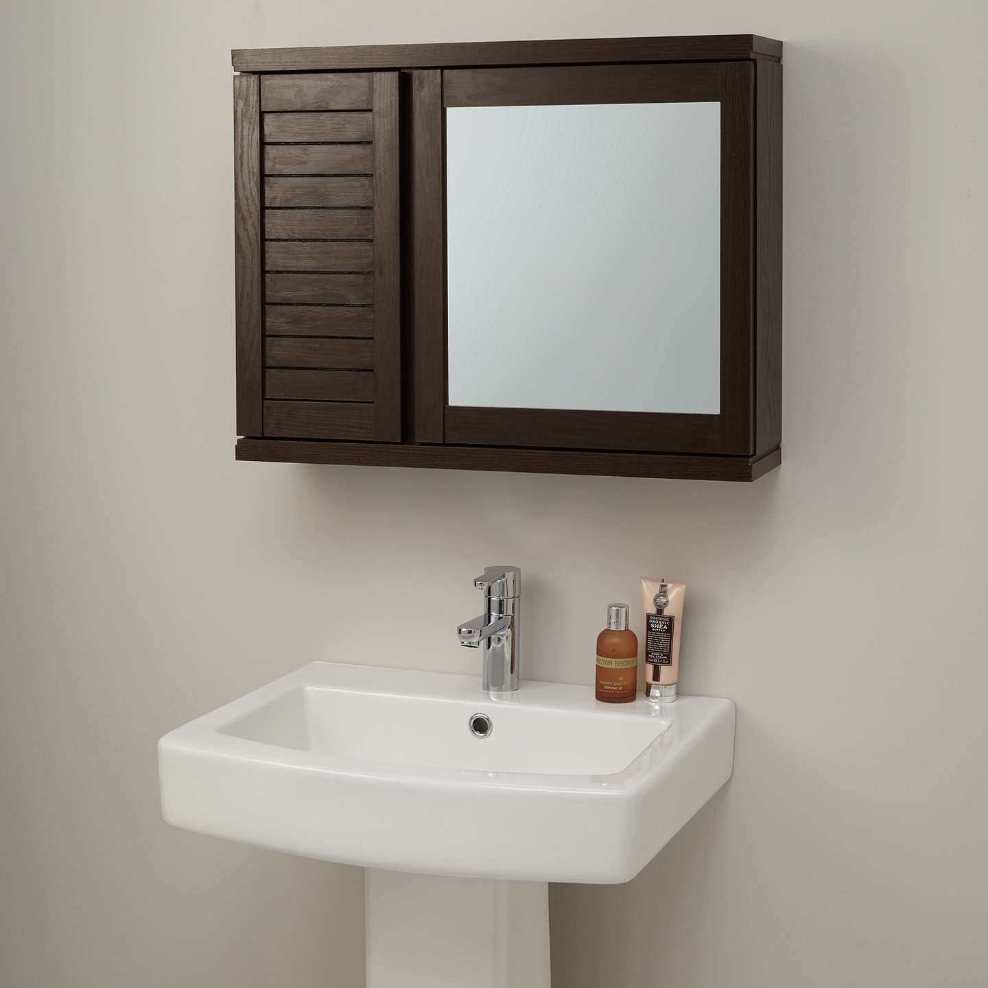 john lewis bathroom cabinets lewis bali mirrored wall cabinet at lewis 18030