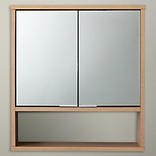 Buy Design Project by John Lewis No.008 Double Mirrored Bathroom Wall Cabinet Online at johnlewis.com