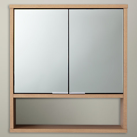 Buy Design Project By John Lewis No008 Double Mirrored Bathroom Wall Cabinet Online At