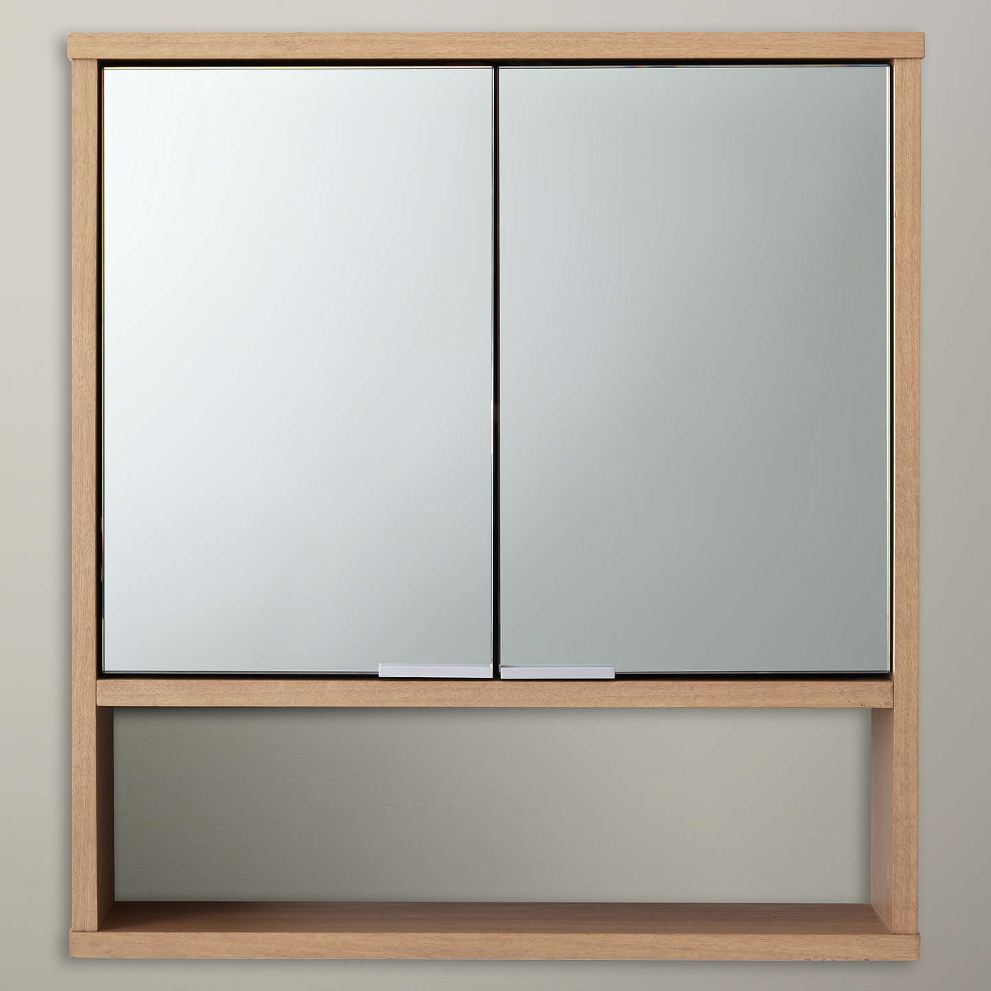 BuyDesign Project By John Lewis No.008 Double Mirrored Bathroom Wall Cabinet  Online At Johnlewis ...