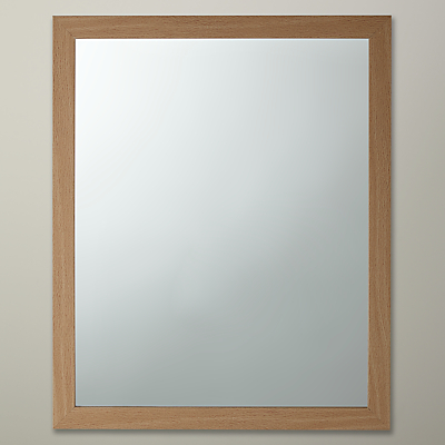 John Lewis The Basics Rectangular Wall Mirror, 55 x 45cm