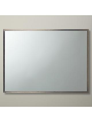 John Lewis & Partners Ivey Rectangular Wall Mirror, 102 x 76cm