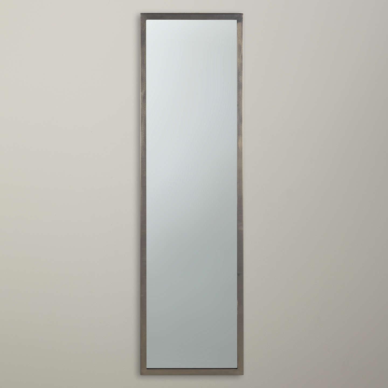 Home Interiors Gifts Inc John Lewis Full Length Mirror 107 X 31cm Pewter At John
