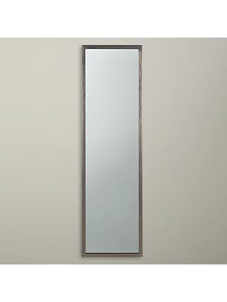 John Lewis & Partners Full Length Mirror, 107 x 31cm, Pewter