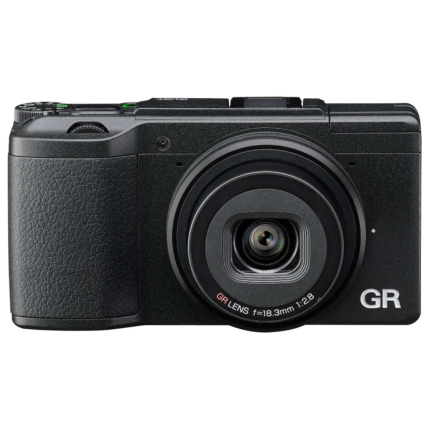 "BuyRicoh GR II Expert Digital Camera, HD 1080p, 16.2MP, Wi-Fi, NFC, 3"" LCD Screen Online at johnlewis.com"