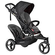 Buy Phil & Teds Dot Pushchair, Graphite Online at johnlewis.com