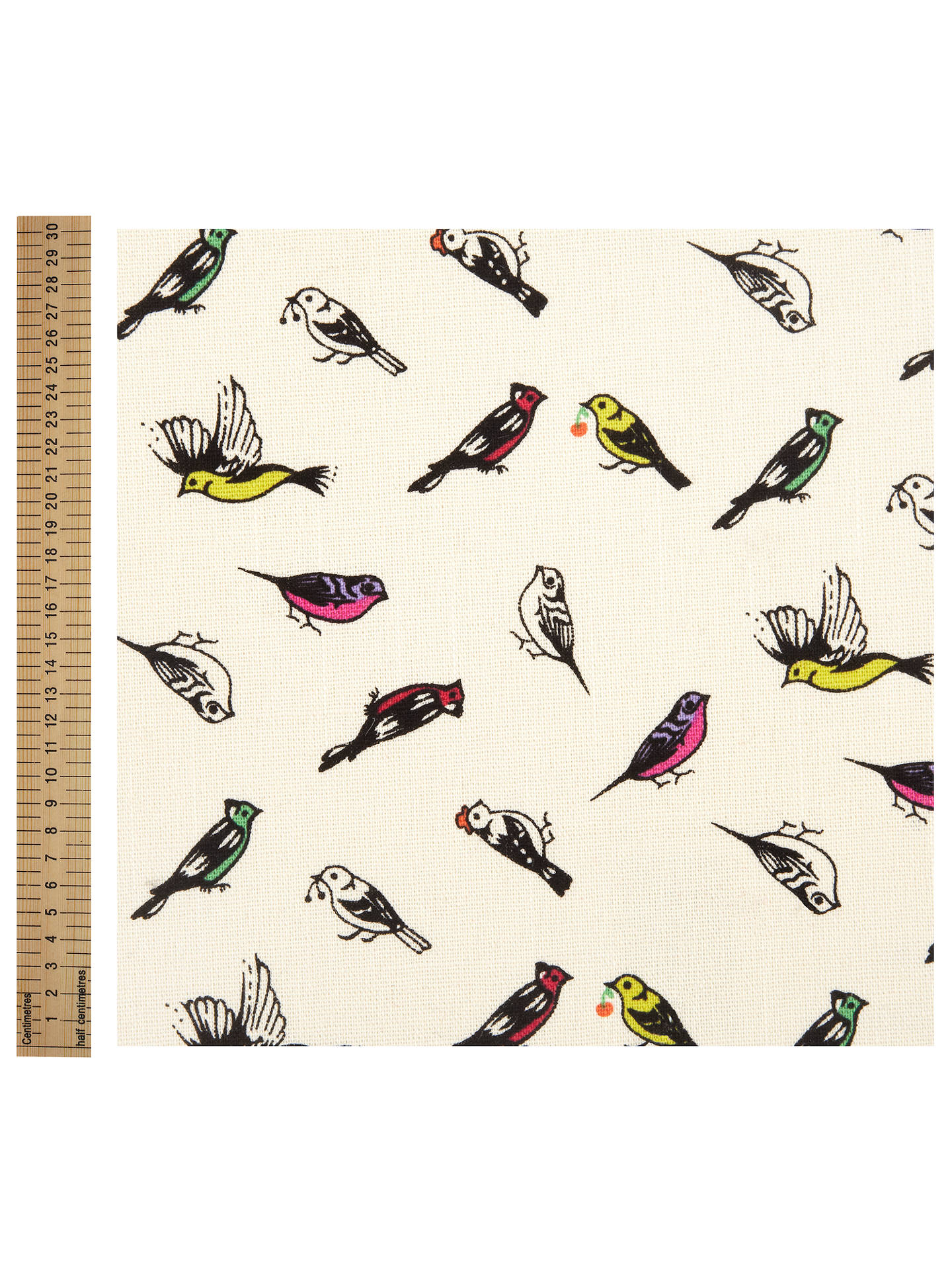 craft Sewing kids children fabric Spring time Birds printed 100/% Cotton Fabric