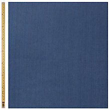 Buy Prem Textiles Chambray Fabric, Dark Blue Online at johnlewis.com