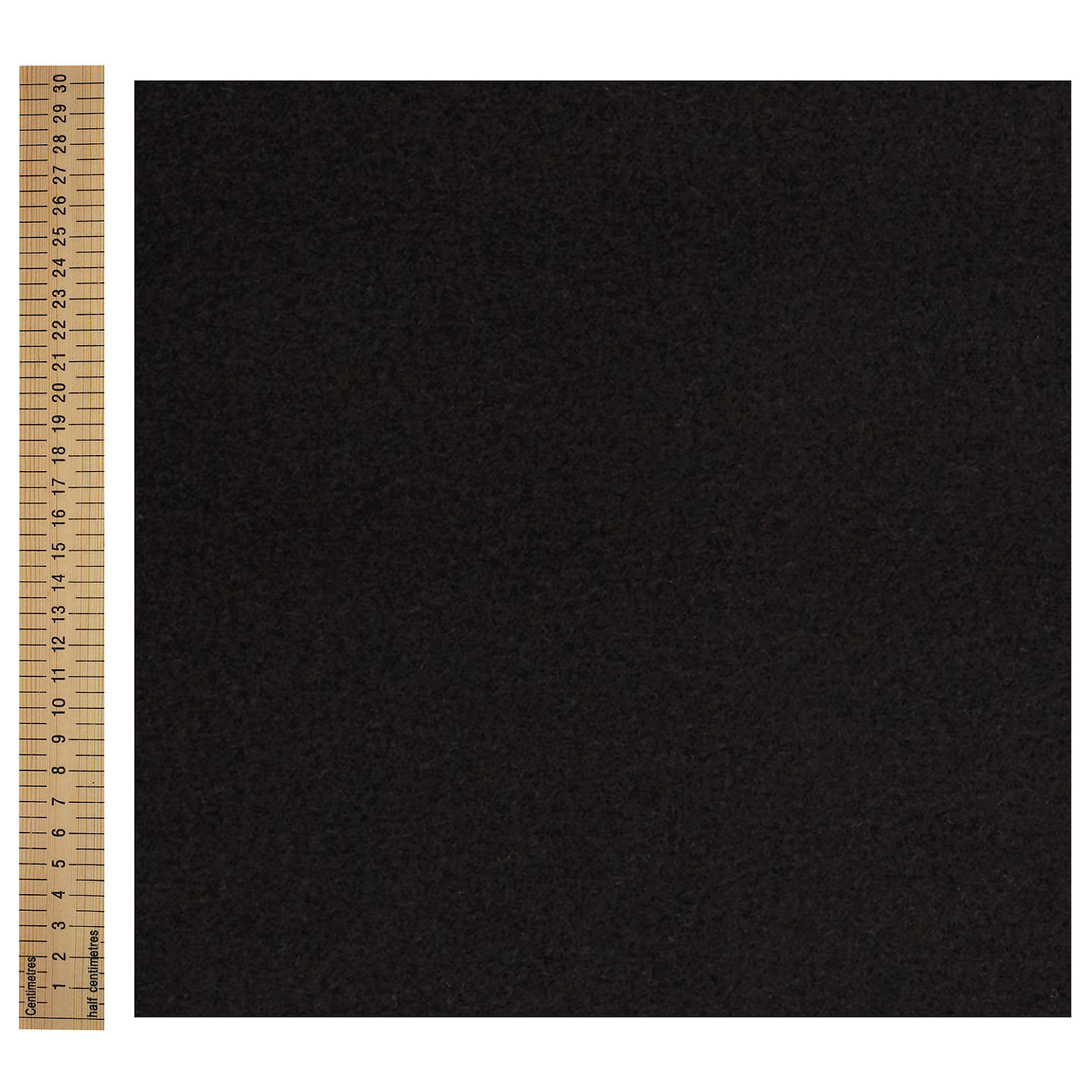 BuyCoat Material Fabric, Black Online at johnlewis.com
