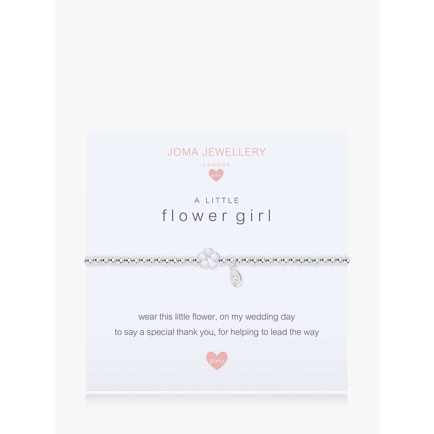 jewelry flower pearl bracelet amazon gift com dp flowergirl girl