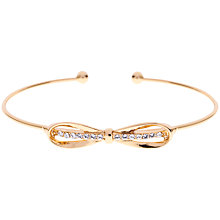 Buy Ted Baker Sorina Bow Detail Crystal Cuff Online at johnlewis.com