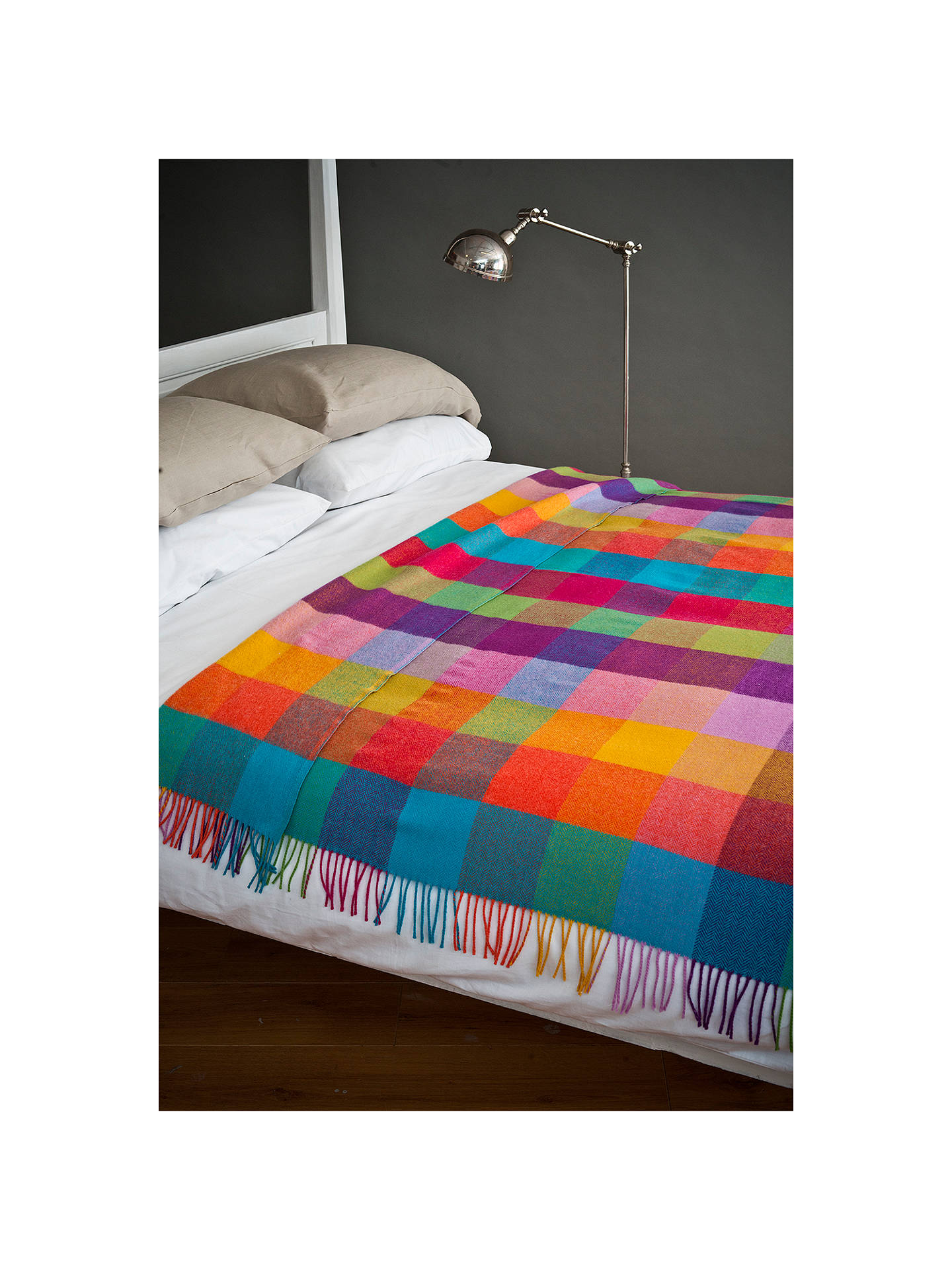 BuyAvoca Circus Wool Throw, Multi Online at johnlewis.com