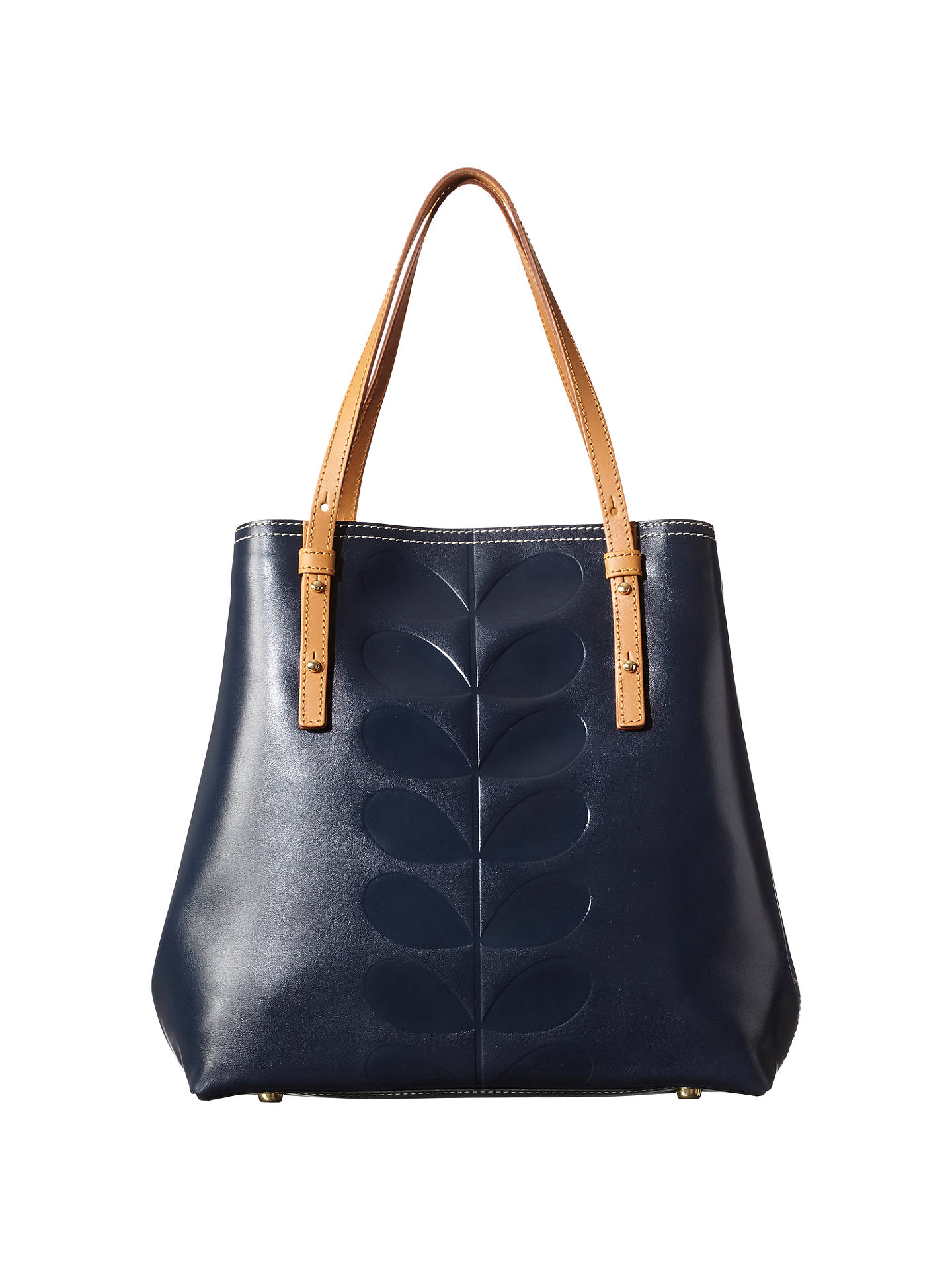 Orla Kiely Embossed Stem Willow Leather