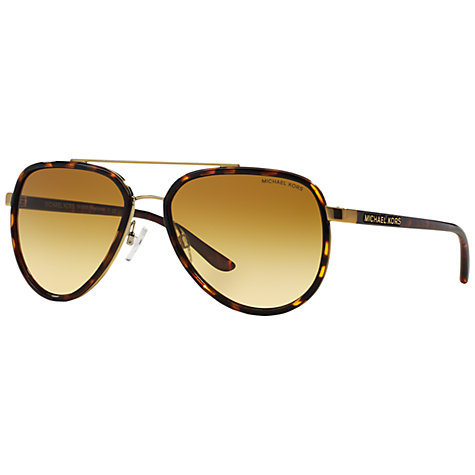 michael kors aviators h0tv  Buy Michael Kors MK5006 Polarised Aviator Sunglasses, Tortoise Online at  johnlewiscom