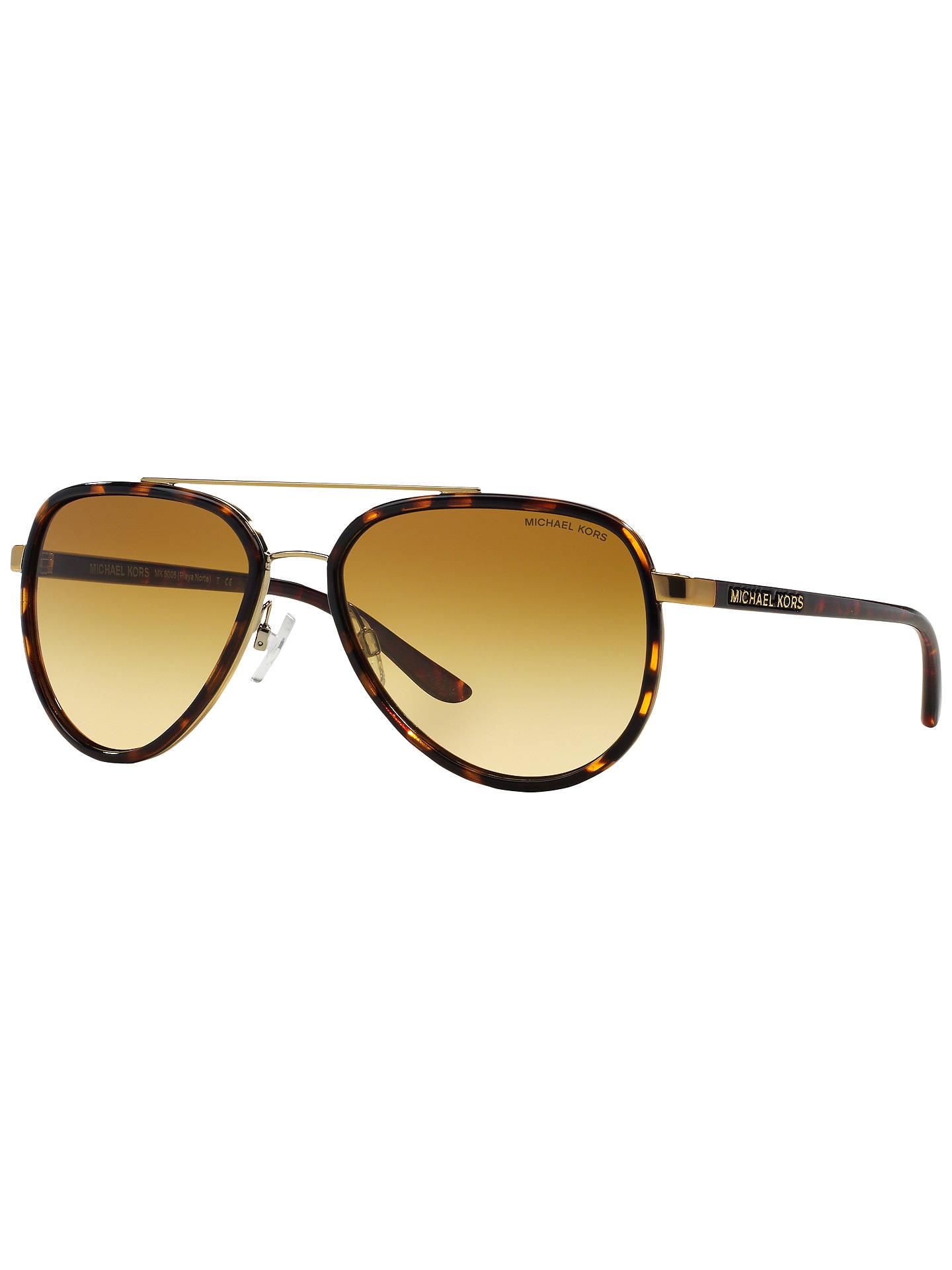b8aa486fb9e Buy Michael Kors MK5006 Polarised Aviator Sunglasses