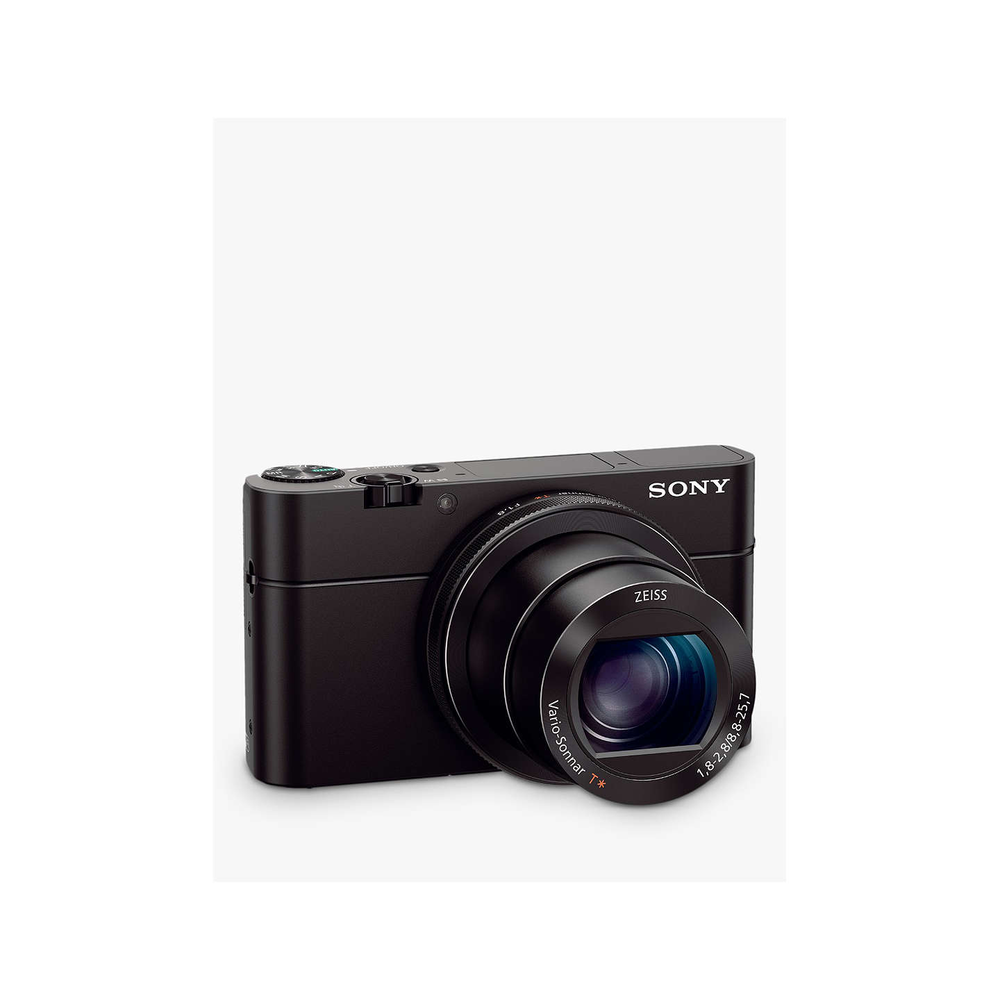 "BuySony Cyber-shot RX-100 IV Camera, 4K, 20.1MP, 2.9x Optical Zoom, Wi-Fi, NFC, OLED EVF, 3"" Tiltable Screen Online at johnlewis.com"